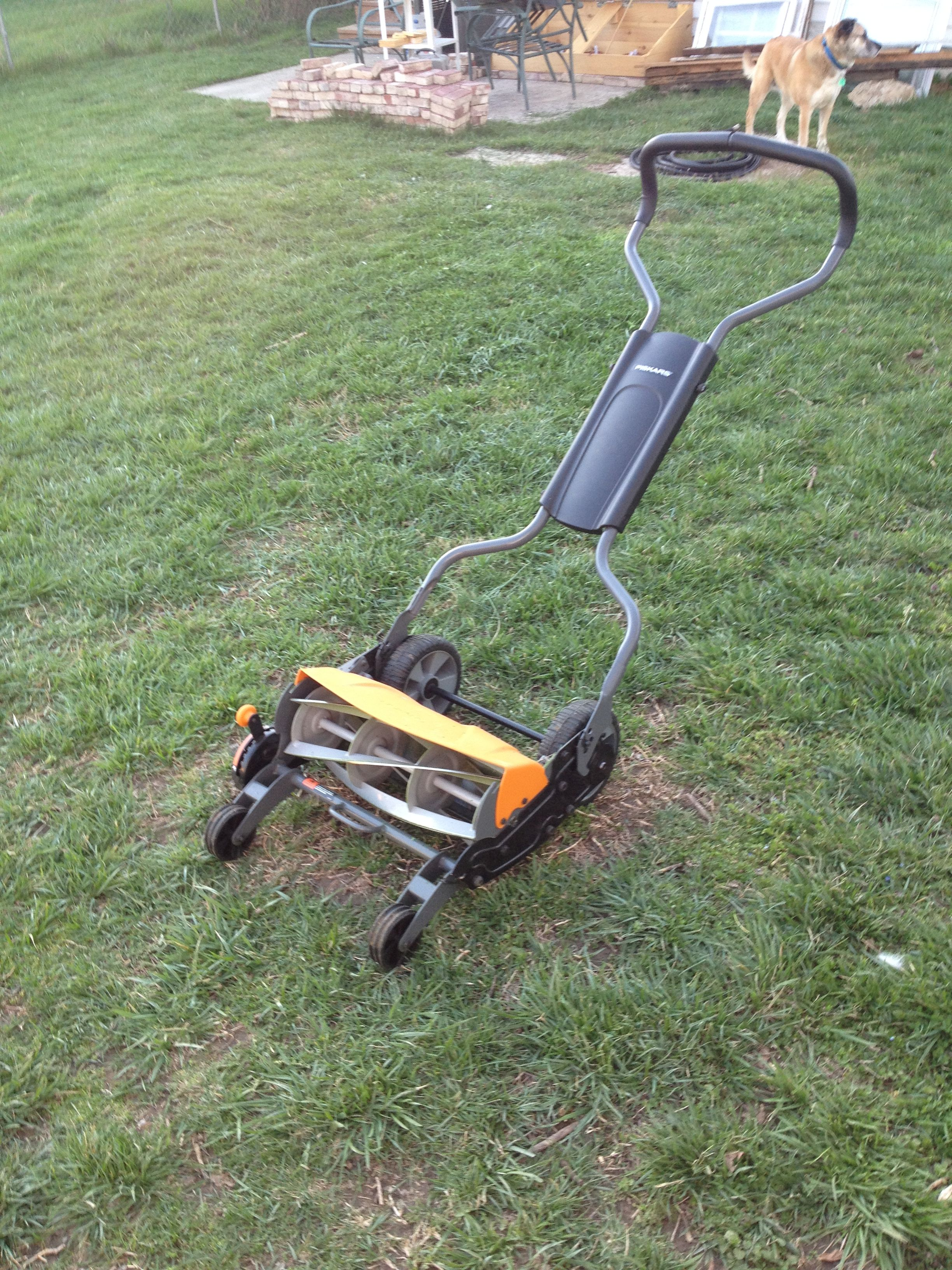 Fun with DIY lawn mowing