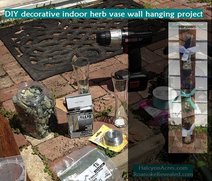 DIY herb indoor decorative and outdoor planting tips at http://RoanokeRevealed.com