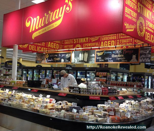 Murrays is a great Roanoke find for the fooddie with a passoin for cheese. Find out more at http://RoanokeRevealed.com
