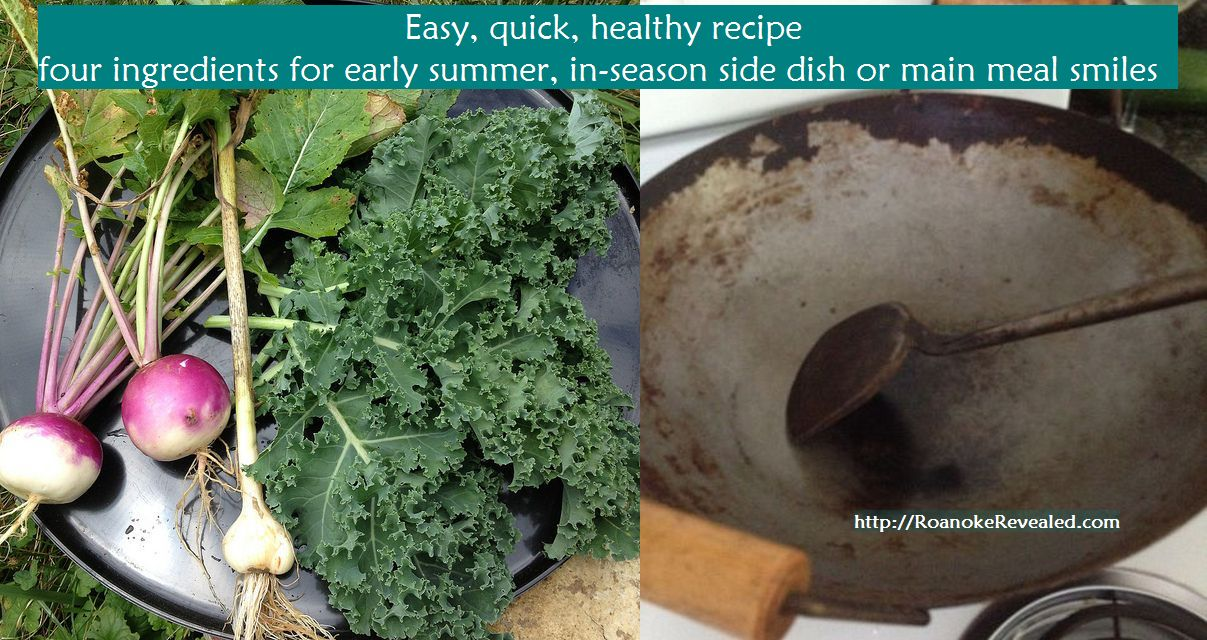 Four easy in-season ingredients for healthy wow at http://RoanokeRevealed.com