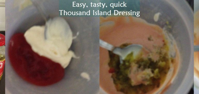 DIY Friday – Easy Thousand Island dressing