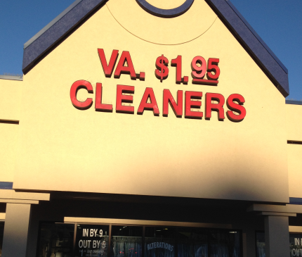 V.A. $1.95 Cleaners
