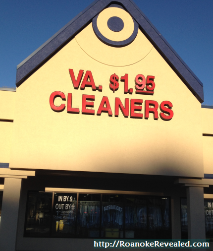 Inexpensive dry cleaning in Roanoke Virginia