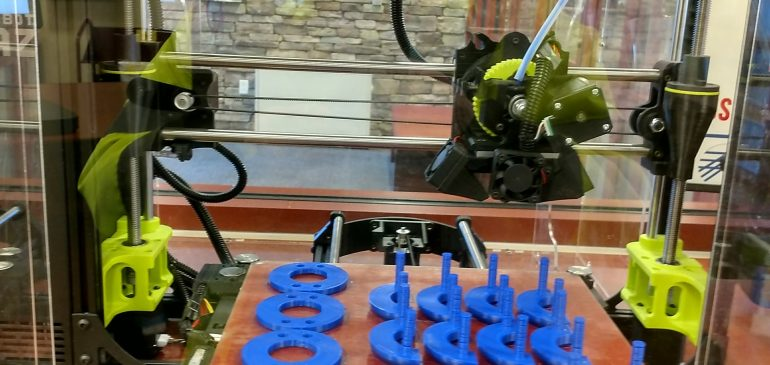 3D printers at South County Library